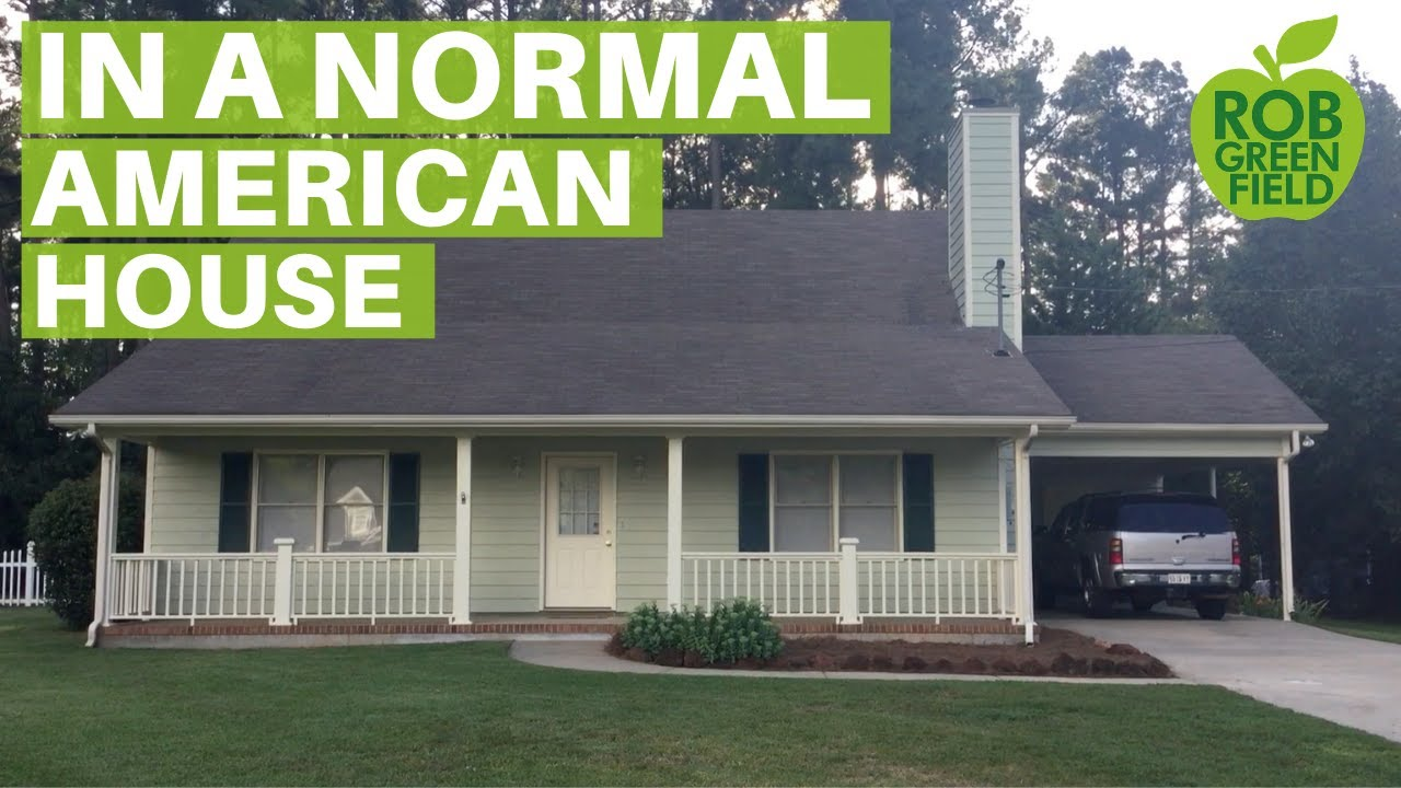 In a normal american house youtube for Americanhouse com