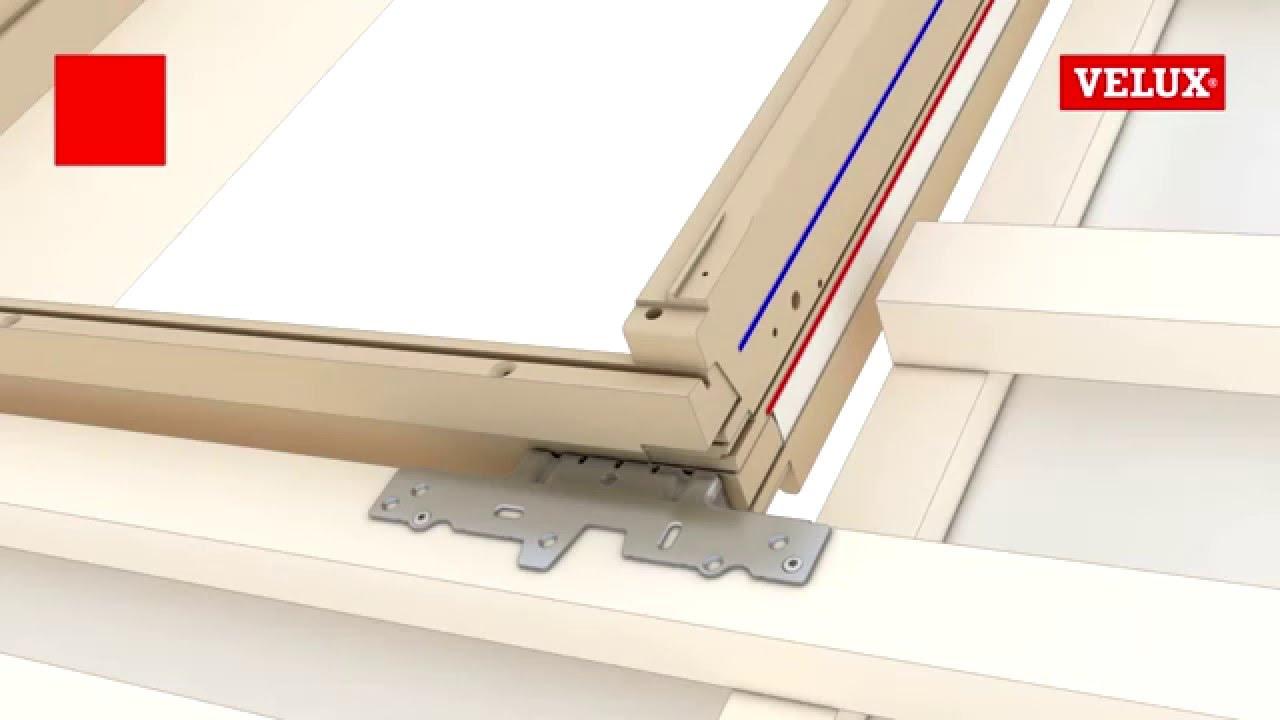 velux ggl ggu roof window installation