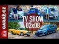 GARÁ?.cz 02x08 - Chevrolet El Camino, Subaru Impreza 22B, Audi A8 vs. BMW 750i vs. Lexus LS