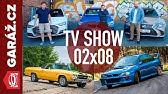 GARÁŽ.cz 02x08 - Chevrolet El Camino, Subaru Impreza 22B, Audi A8 vs. BMW 750i vs. Lexus LS