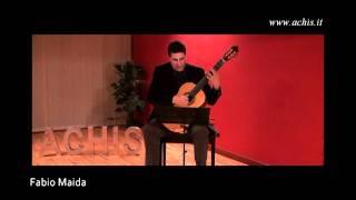 """ACHIS 2011 concerti pomeridiani - Fabio Maida """"foglio d"""