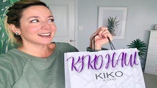 Kiko Milano Makeup Haul 2019