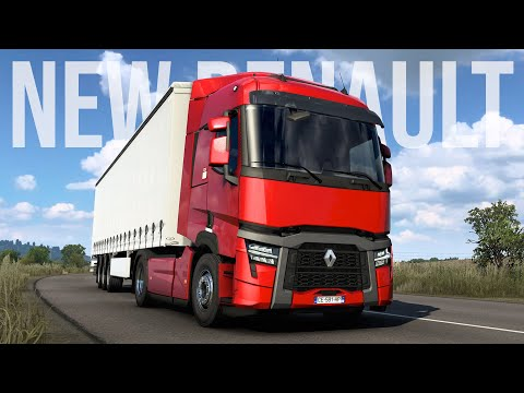 NEW Renault Trucks T U0026 T High: Evolution | Euro Truck Simulator 2 | Toast