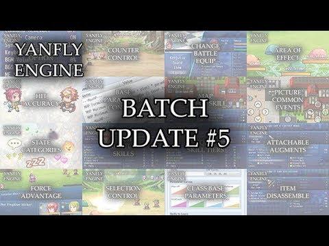 Yanfly Engine Plugins - Batch Update #5 - RPG Maker MV ...