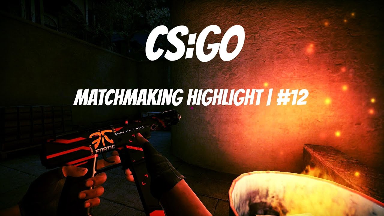 record matchmaking cs go Play csgo (b2p), finish simple quests write article or record video write an article or prepare a video about this game cs: go (b2p) or counter-strike:.