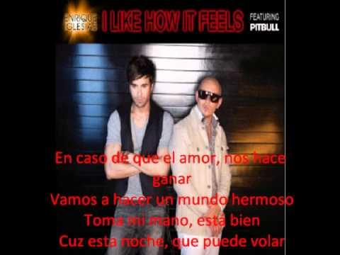 i like how it feels enrique iglesias ft pitbull subtitulada español