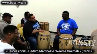 James Ross @ (Percussion Clinic) with Pedrito Martinez & Weedie Braimah - www.Jross-tv.com
