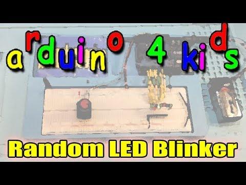 Arduino For Kids: Random Blinking LEDs