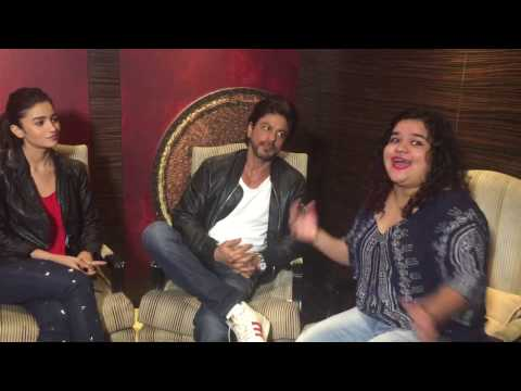 Shah Rukh Khan, Alia Bhatt, Gauri Shinde Interview with Team MissMalini   Dear Zindagi