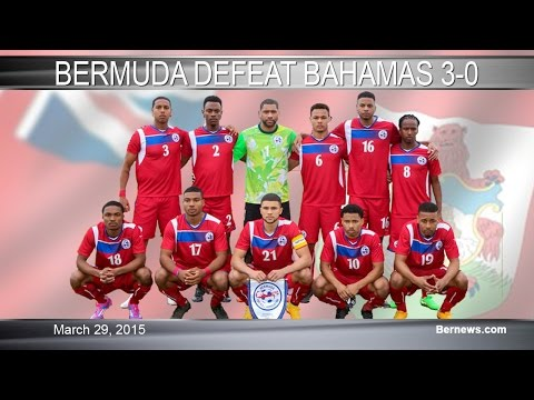 Bermuda vs Bahamas Football Highlights, March 29 2015