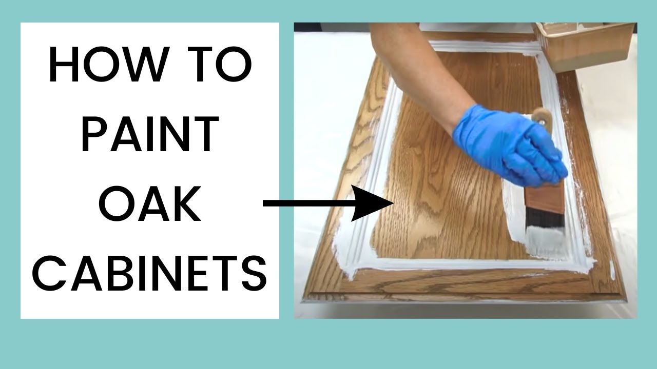 Youtube How To Paint Kitchen Cabinets White