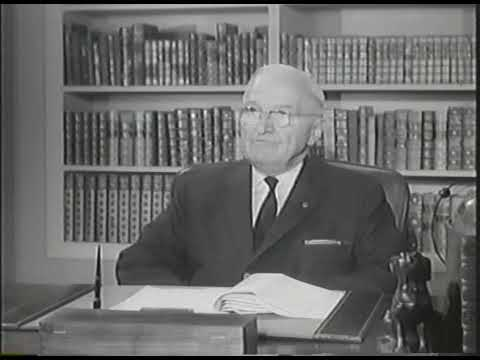 MP2002-342 Former President Truman Discusses The Recognition Of Israel
