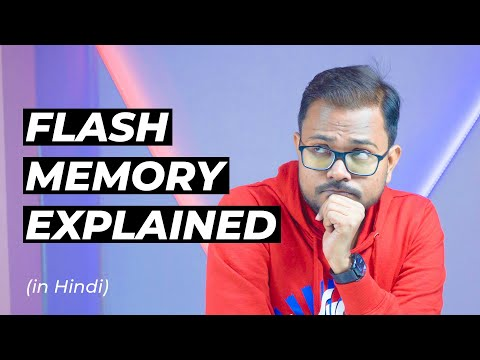 Flash Memory Explained in Hindi | NOR vs NAND Flash Memory | Amazon Gift Card Giveaway worth Rs 5000