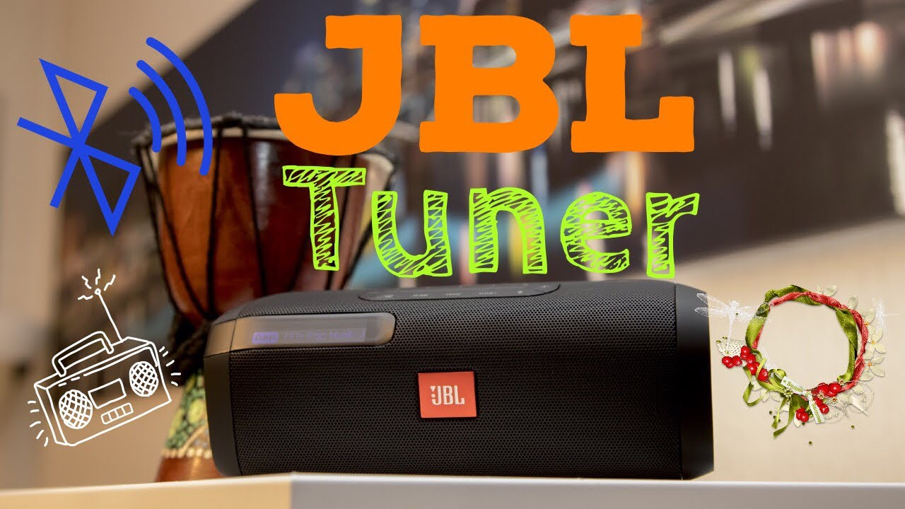 jbl tuner portable bluetooth lautsprecher mit dab radio. Black Bedroom Furniture Sets. Home Design Ideas