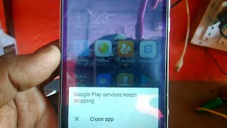 Google play services stopped problem (mobail solution)