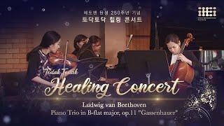 토닥토닥 힐링 콘서트: 베토벤 피아노 트리오 | Lud…