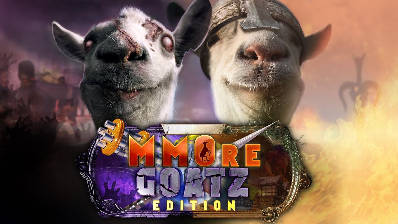 Goat Simulator: Mmore Goatz Edition gameplay and review ...