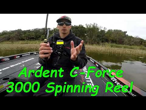 Why I Use The Ardent C-Force 3000 Spinning Reel