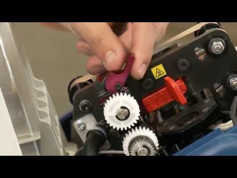 How to Replace Blade and Belts for the H-1604 Mini Pak'r