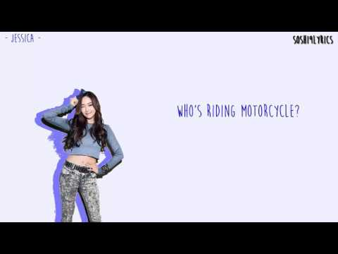 Girls' Generation (少女時代) - Motorcycle Lyrics [Color Coded/ENG/ROM]