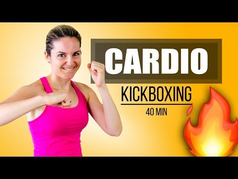 Rutina Para Destruir La Grasa Cardio Kickboxing