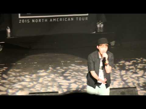 Epik High Tablo Eyes nose lips Live San Francisco Warfield Concert 5/28/15