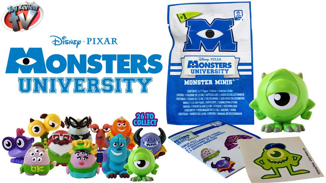 Monsters University Minis Mystery Figure Blind Bags Toy