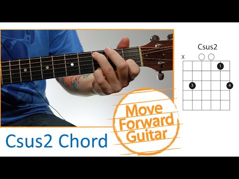Video - Guitar Chords for Beginners - Csus2