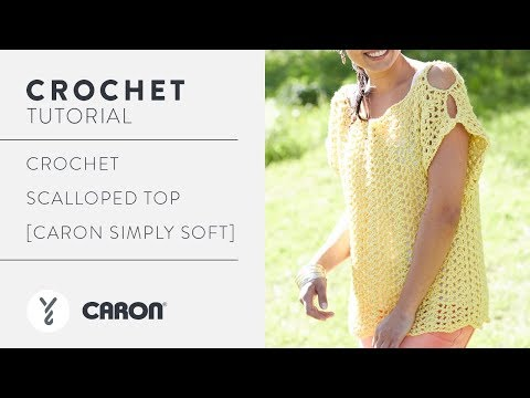 How To Crochet A Scalloped Top