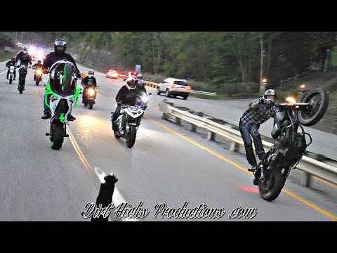 SBFC LEGAL STUNT RIDE *RAW FOOTAGE* - HAZARD KENTUCKY 2016 - STREET BIKE FREESTYLE CHAMPIONSHIP