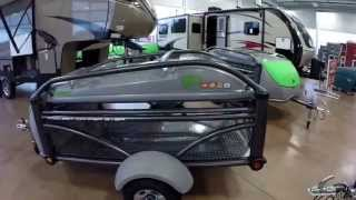 2016 Sylvan Sport GO Tent Camper, Toy Hauler, Utility Trailer and only 840 Pounds!