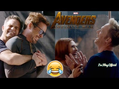 Avengers: Infinity War Funny Behind The Scenes - Must Watch 2018