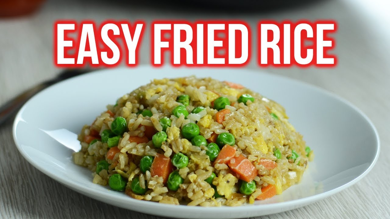 Basic Recipe For Fried Rice