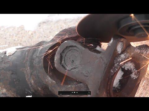 Suzuki SX4 AWD driveshaft/propeller shaft  repair of u-joints