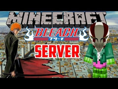 Minecraft Server: Bleach RPG Server! - Part 1: Soul Reapers And Hollows