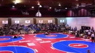 Cameron wrestling