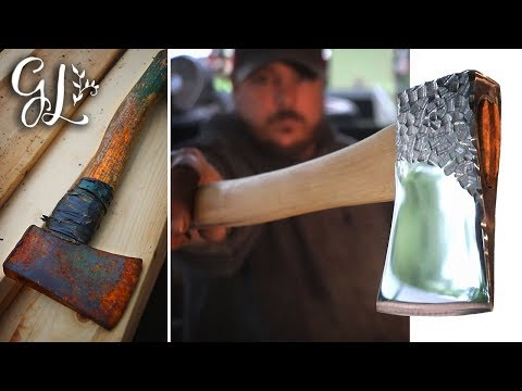 Rusted Axe Restoration..beyond restored.