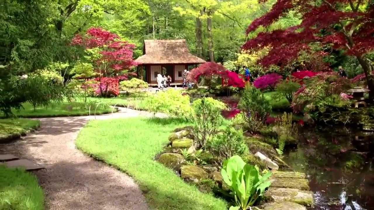 Zen Tuin Aanleggen : Japanse tuin clingendael den haag youtube