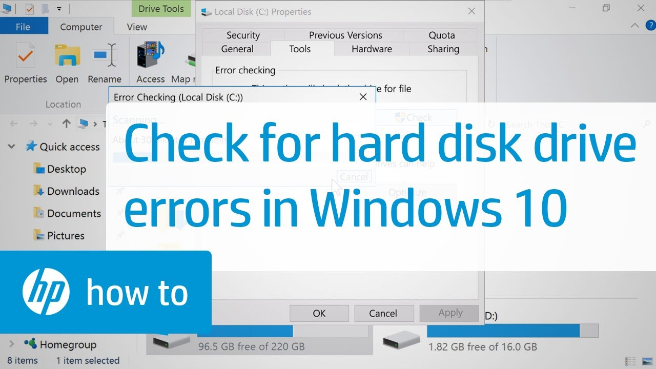 Checking the disk for errors: Ways and Recommendations