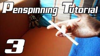 Penspinning Tutorial [German][#3] - Fingerpass!