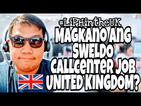 FILIPINO VLOG UK | CALLCENTER SALARY | UNITED KINGDOM | LiPHintheUK