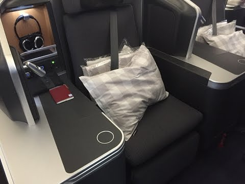 Sas business class trip from Washington DC to Copenhagen.