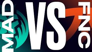 MAD Vs. FNC - Finals Game 1 LEC Summer Split MAD Lions Vs. Fnatic 2021