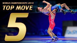 Top 5 Move World Championships 2019  | WRESTLING