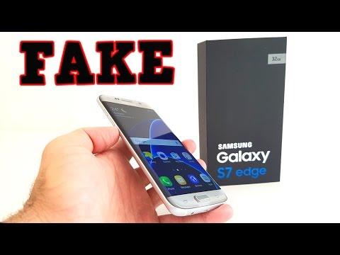 FAKE Samsung Galaxy S7 Edge Hands-On - Buyers BEWARE!