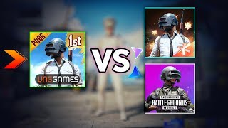 PUBG Mobile VN vs PUBG Mobile KR vs PUBG Mobile Global | Hindi |