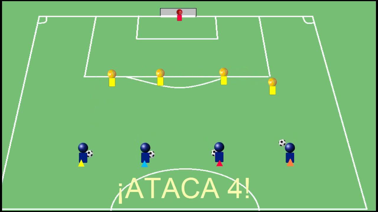 ejercicios tecnico tacticos de futbol pdf
