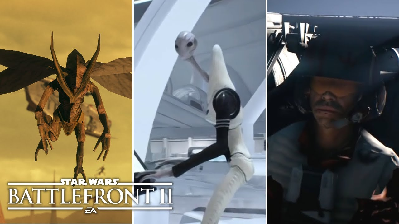 The Top 5 Things You SHOULDN'T Be Seeing In Star Wars Battlefront 2 Finale!