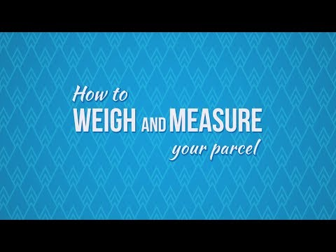 Sending A Parcel By Courier? How to weigh and measure your parcel
