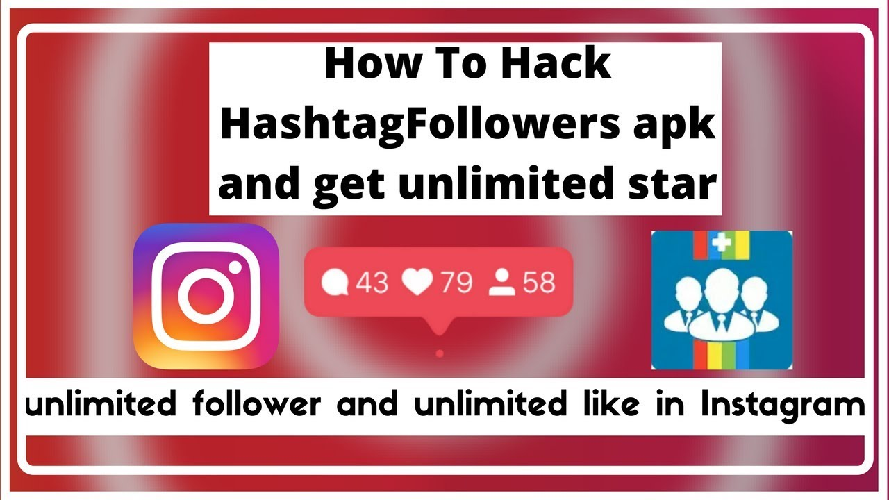 How to get unlimited star HashtagFollower APK [And get unlimited like and  followers on Instagram]